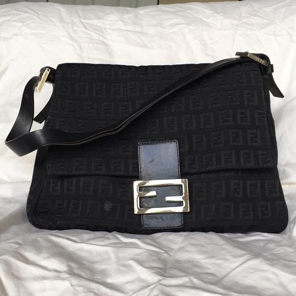 2eb828f17701 ... italy fendi zucchino mama baguette shoulder bag 95f9c 58e2e new  arrivals vintage fendi zucca crossbody ...